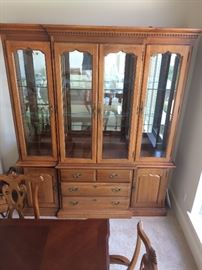 China cabinet. Thomasville