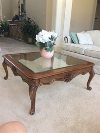 Matching coffee table, end and side table