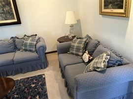 Early American/Country Sofas in very nice condition.