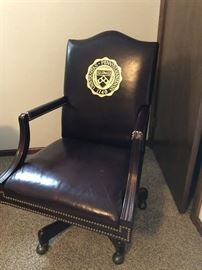 University of Pennsylvania Leather Office Chair