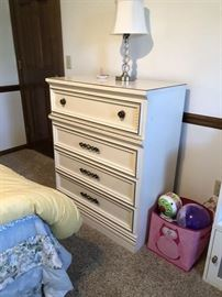 White Chest of Drawers....