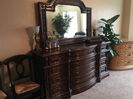 Eastern Legends dresser & mirror