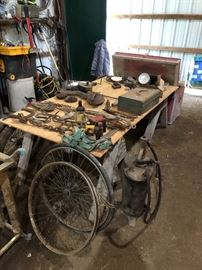 Old Farrier Tools