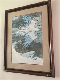 BEAUTIFUL BEV DOOLITTLE SIGNED NUMBERED LIMITED EDITION PRINT