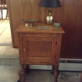 Small antique cabinet