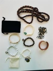 Lot of bracelets and jewelry