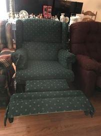 #5 green recliner   $65.00