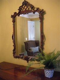 mirror from bedroom suite