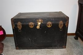 Antique trunk, one of five