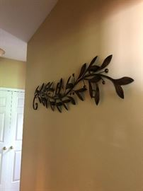 Metal wall hanging