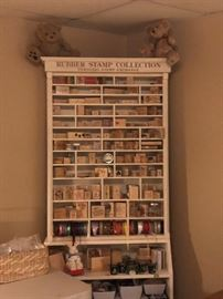 Stamp display shelf (stamps sold separately)