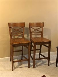 Tall bistro chairs