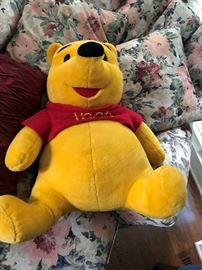 Pooh stuffed animal