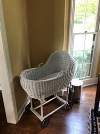 Antique bassinet
