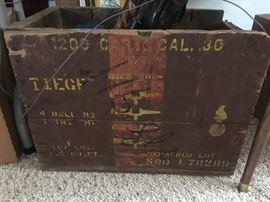 US Military .30 Cal Ammo box