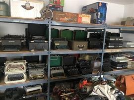 Royal, Underwood, Smith & Corona, Remington, Remington Rand, IBM typewriters