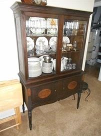vintage cabinet, nice size with locking doors