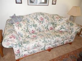 "Broyhill sofa , 7 ft long , by 32"" deep, in nice condition. Non smoking and pet free home."