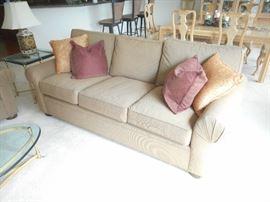7' long Drexel Heritage sofa.  Non smoking and no pet home