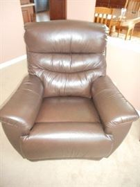 matching Leather arm chair