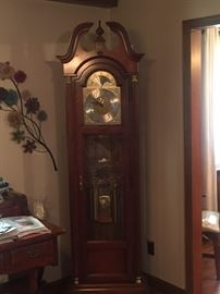 "Howard Miller "" The Capulet"" Grandfather Clock No 610-274"