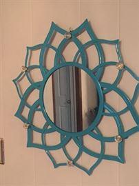 Modern Style Metal Mirror