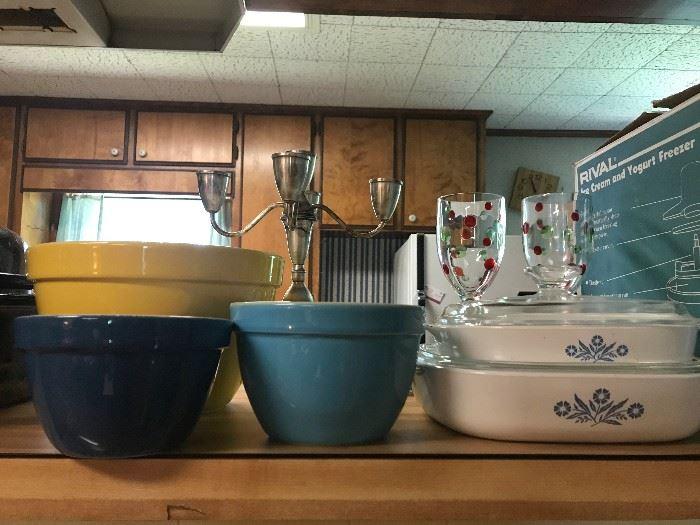 CorningWare Dishes