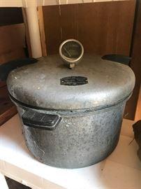 Vintage Pressure Cooker