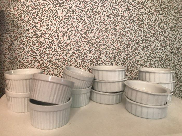 White Ceramic Ramekins