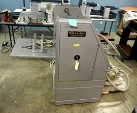"Rollem Auto4 Numbering And Perforating Machine, 51""H x 72""W x 34""D"