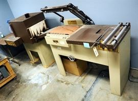 Sergeant Packaging Sealer Model 1620C Simpulse, Includes Shrink Tunnel Model 92416-LR