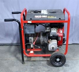 Porter Cable BSV800 8000 Watt Generator, 7 Gallon Fuel Tank, 14 HP, Electric Start