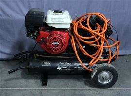 Aire-Sweep Portable Air Compressor with Honda GX240 8.0 Engine