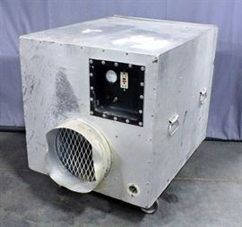 "AeroSpace America HEPA Air Scrubber / Negative Air Machine on Casters, 26""W x 31""H x 33.5""D"