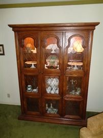 Retro display cabinet