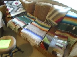 Nice Navajo Blankets and Rugs!