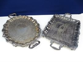 Heavy Serving Trays (2)