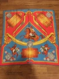 Gorgeous authentic Hermes scarf