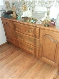 French Provincial buffet  150