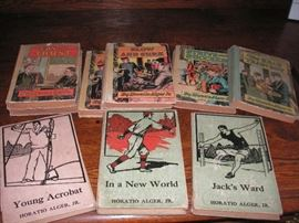 Horatio Alger Jr books