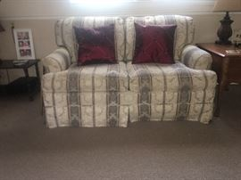 Love seat- matching sofa also available