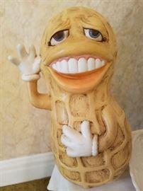 Vintage  Jimmy Carter Smiling peanut figurine.