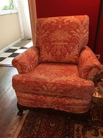 stuffed arm chair