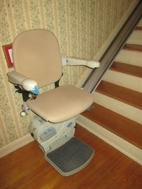 "Sterling Stairlift 13' 6"" Long Rail"