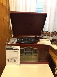 LP to CD recorder — barely used.