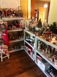 Christmas Holiday Collectibles and Decor (Dept. 56, Hallmark, Heritage, etc)