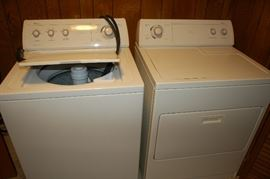 Whirlpool Ultimate Care II Washer Whirlpool Drier