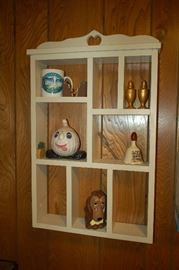 Wall storage shelving