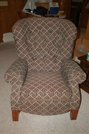 Lazy Boy fabric cushioned recliner