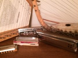 Harmonicas. And instruments